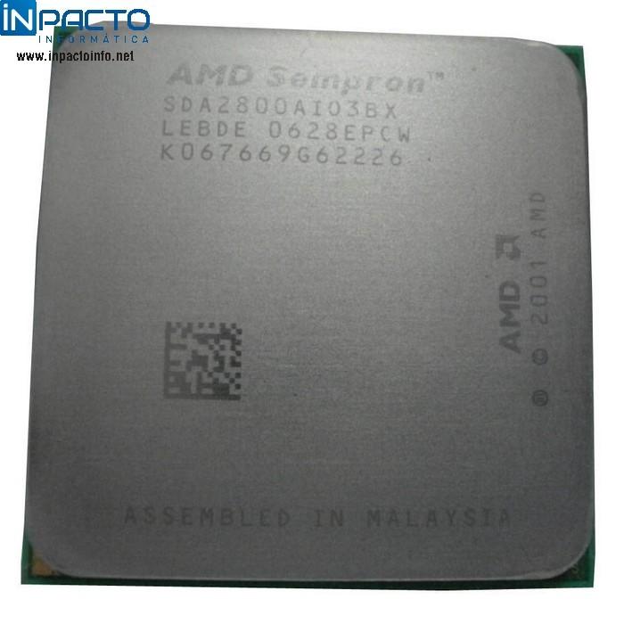 PROCESSADOR 754P AMD SEMPRON 2800+BOX  - In-Pacto Informática