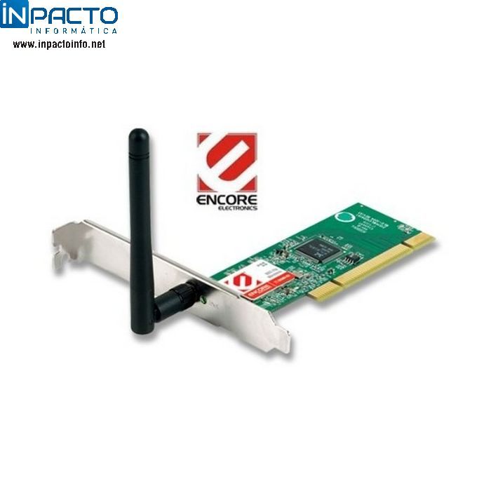 WIRELESS ADAPTER PCI ENCORE ENLWI-G2 - In-Pacto Informática