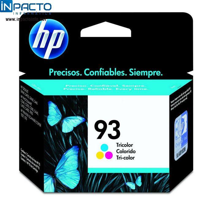 CARTUCHO HP 93 (C9361) COLOR ORIGINAL - In-Pacto Informática