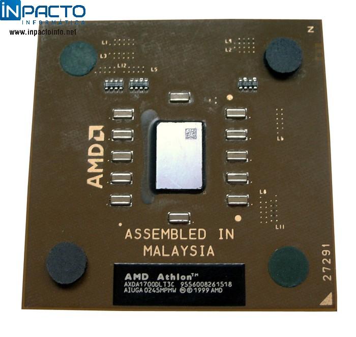 PROCESSADOR AMD ATHLON 1700+ 462P (USADO) - In-Pacto Informática