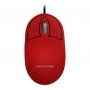 MOUSE OPTICO CLASSIC BOX VERMELHO USB MO303 MULTILASER - In-Pacto Informática