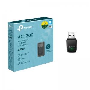 WIRELESS ADAPTADOR TP-LINK ARCHER T3U AC1300 DUAL BAND - In-Pacto Informática