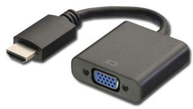 ADAPTADOR PLUSCABLE VGA F / HDMI M ADP-002 - In-Pacto Informática
