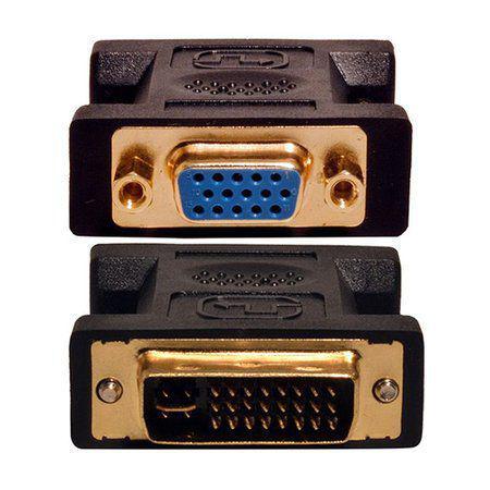 ADAPTADOR VGA FEMEA P/ DVI-I MACHO PRETO - In-Pacto Informática