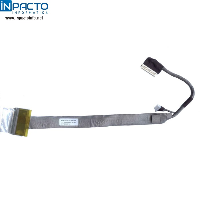 CABO FLAT LCD ACER 3100 5100  - In-Pacto Informática