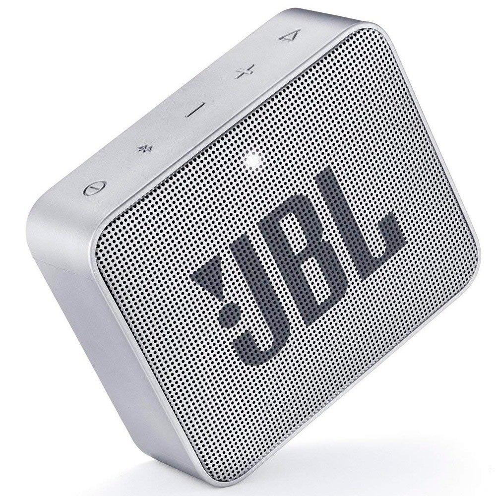 CAIXA SOM JBL GO2 BLUETOOTH CINZA - In-Pacto Informática