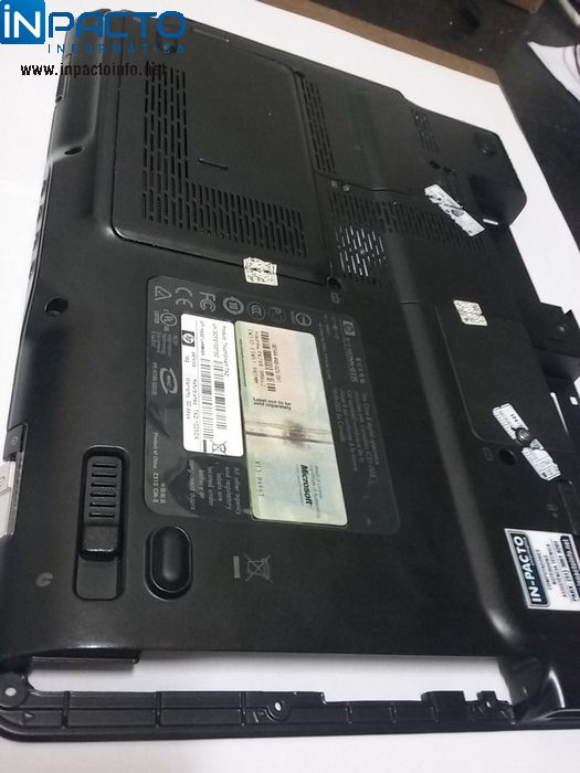 CARCAÇA INFERIOR NOTEBOOK HP TOUCHSMART TX2  - In-Pacto Informática