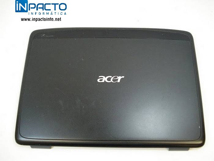 CARCACA TAMPA LCD  ACER 4520 C/ WEBCAM  - In-Pacto Informática