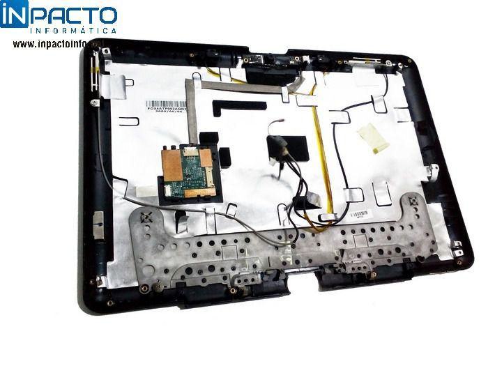 CARCAÇA TAMPA TELA HP TOUCHSMART TX2 1025DX  - In-Pacto Informática
