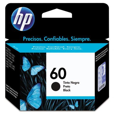 CARTUCHO HP 60 (CC640WB) PRETO ORIGINAL - In-Pacto Informática