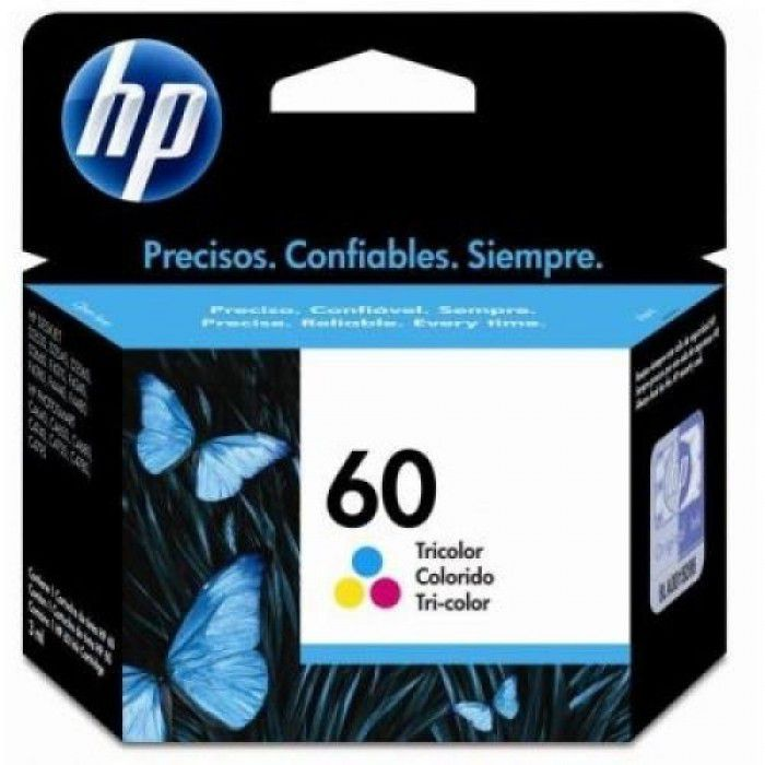 CARTUCHO HP 60 (CC643WB) COLOR ORIGINAL - In-Pacto Informática