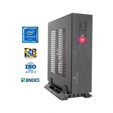 COMPUTADOR  INTEL CELERON J3060 MINI J3060 / 4GB DDR3 / SSD 240GB - In-Pacto Informática