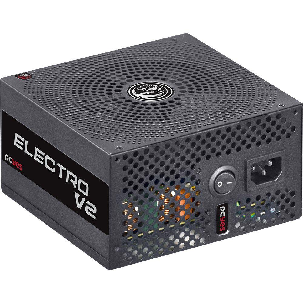 FONTE ATX PCYES 750W REAIS 80PLUS BRONZE ELEC - In-Pacto Informática