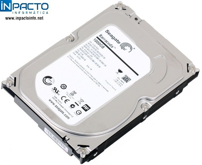 HD SATA3 1TB SEAGATE ST1000DM003 - In-Pacto Informática