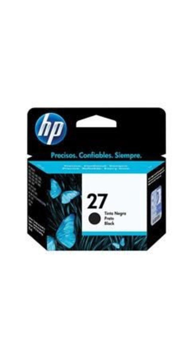 HP C8727AB 27 CARTUCHO DE TINTA PRETO (11 ml) - In-Pacto Informática