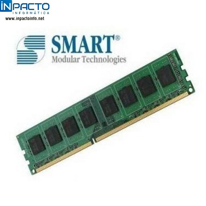 MEMORIA 1GB SMART DDR2 800 - In-Pacto Informática