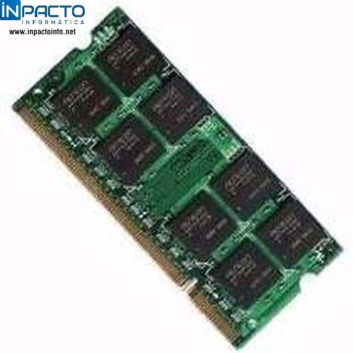 MEMORIA DE NOTEBOOK DDR333 256MB 16MX16 2.5V - In-Pacto Informática
