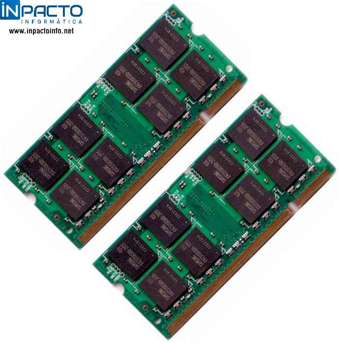 MEMORIA NOTEBOOK 1GB QIMONDA DDR2 667 - In-Pacto Informática