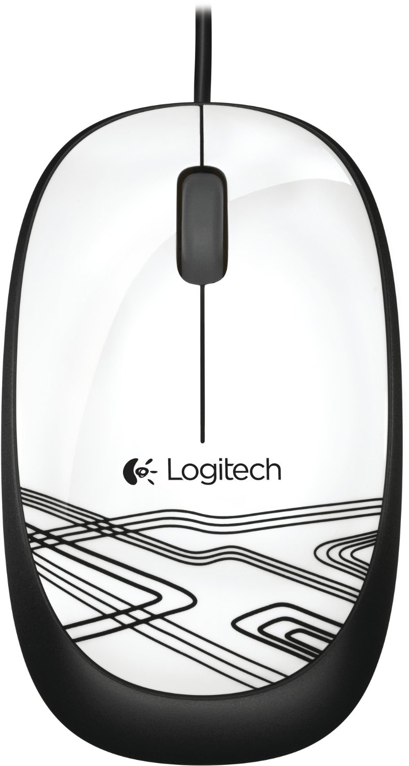 MOUSE OPTICO m105 BRANCO USB LOGITECH - In-Pacto Informática