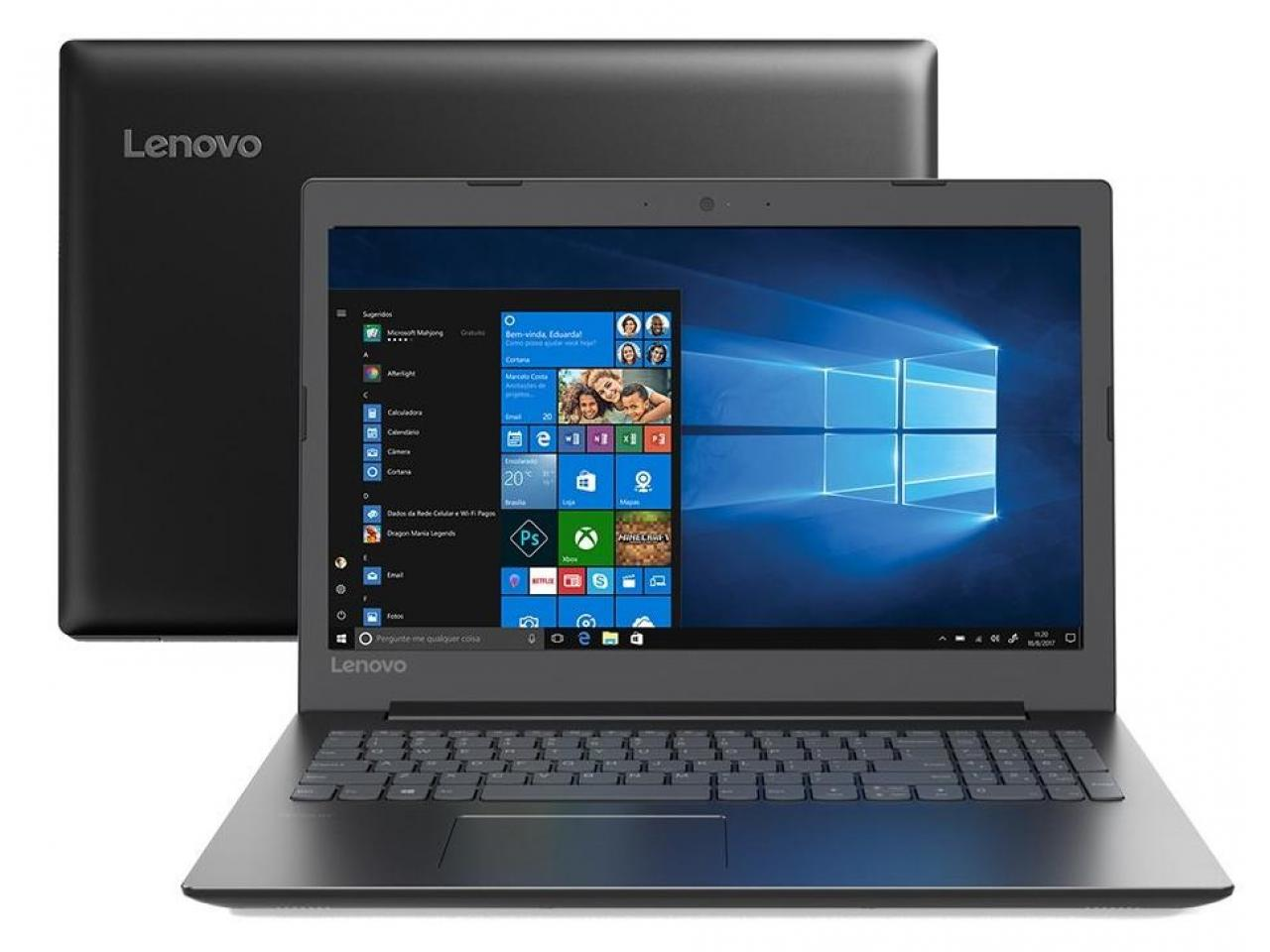 NOTEBOOK LENOVO B330-15IKBR INTEL CORE I5 8250U 8GB (2X4GB) 1TB 15.6 FULL HD WINDOWS 10 PRO PRETO - In-Pacto Informática