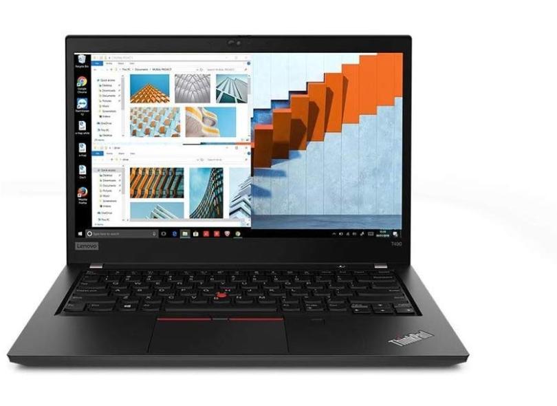 NOTEBOOK LENOVO THINKPAD T490 INTEL CORE I5 8365U 8GB SSD M.2 PCIE 256GB 14 FULL HD WINDOWS 10 PRO PRETO - In-Pacto Informática