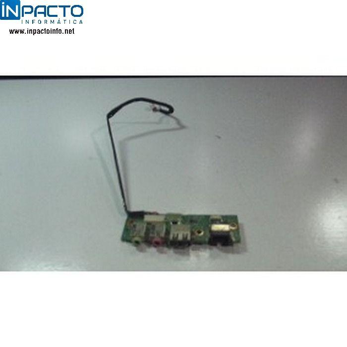 PLACA DE AUDIO , FAX-MODEM E USB NOTEBOOK POS  - In-Pacto Informática