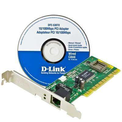 PLACA DE REDE D-LINK DFE-530TX 10/100MB - In-Pacto Informática