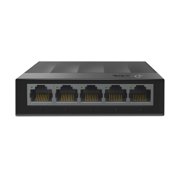 SWITCH 05 PORTAS GIGABIT TL-LS1005G TP-LINK - In-Pacto Informática