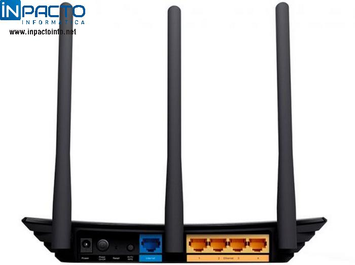 WIRELESS ROUTER TP-LINK 450MB TL-WR940N - In-Pacto Informática