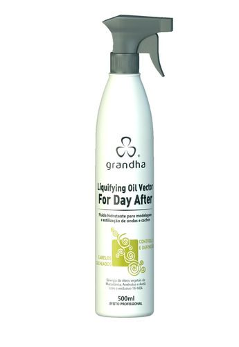 Grandha Curl Wave Liquifying Oil Vector For Day After 500 Ml