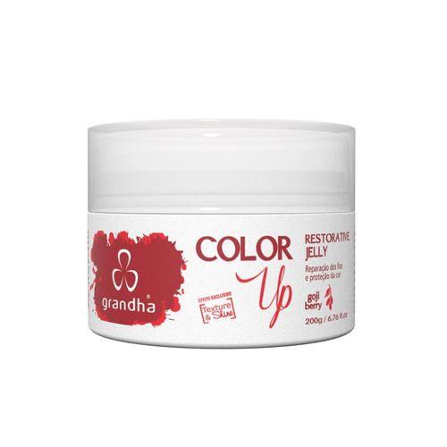 Máscara Grandha Color Up Restorative Jelly Goji Berry 200g