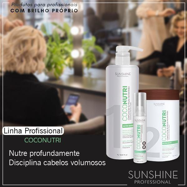 COCO NUTRI TRATAMENTO SUNSHINE PROFESSIONAL 3 PRODUTOS