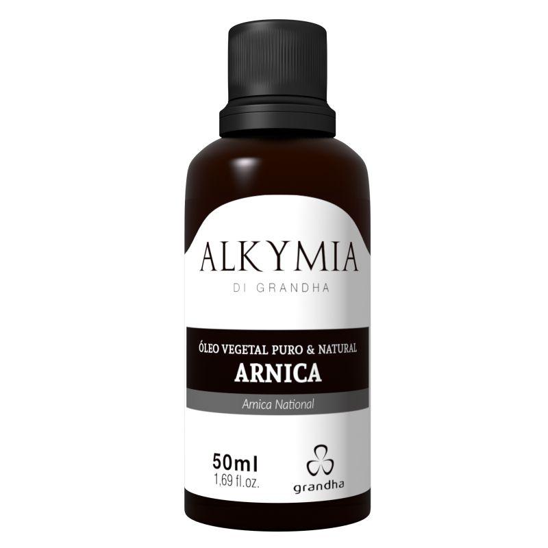 Grandha Alkymia Óleo Vegetal De Arnica 100% Puro 50ml