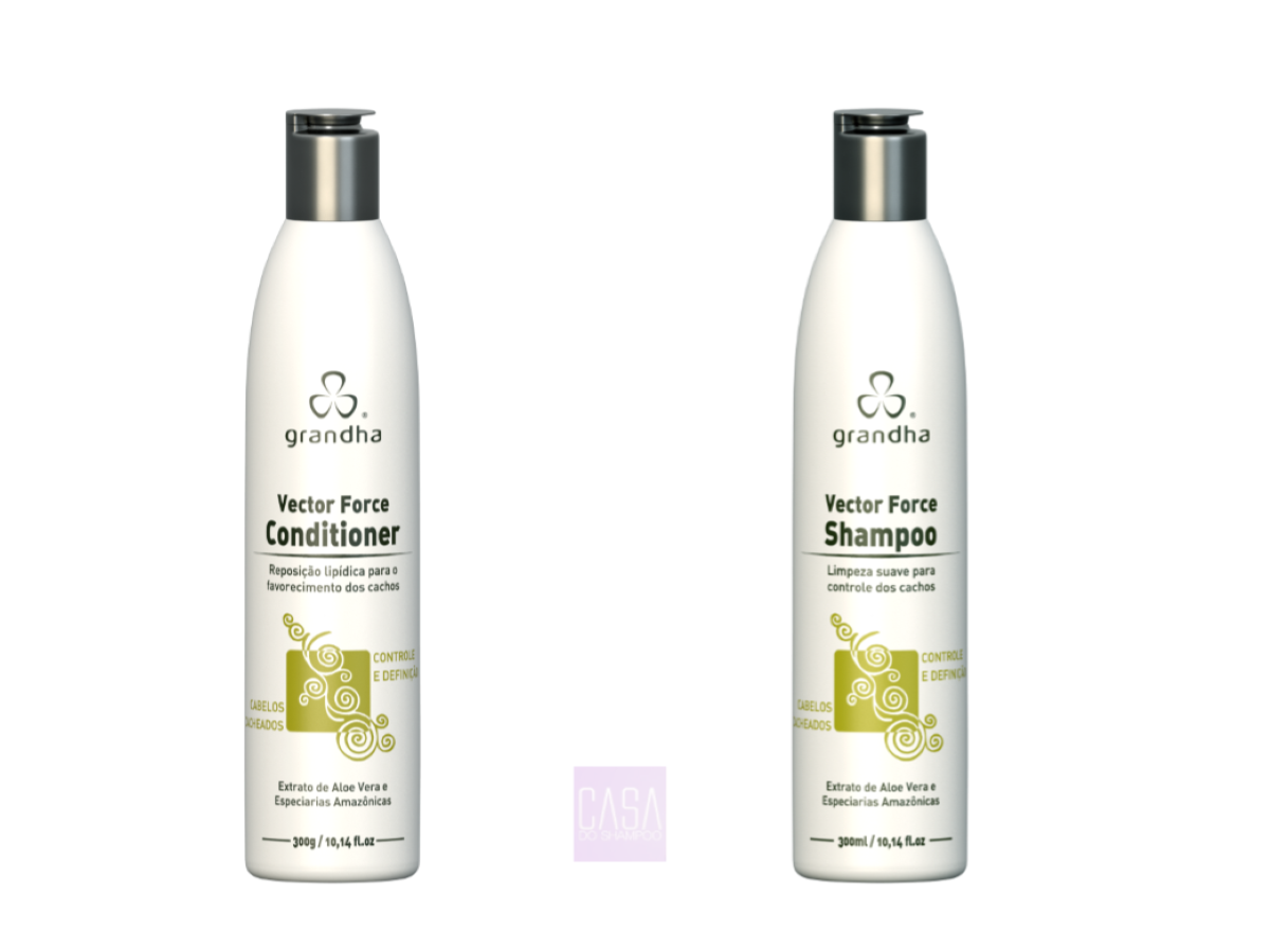 Grandha Curl & Wave Vector Force Shampoo E Cond. 300ml