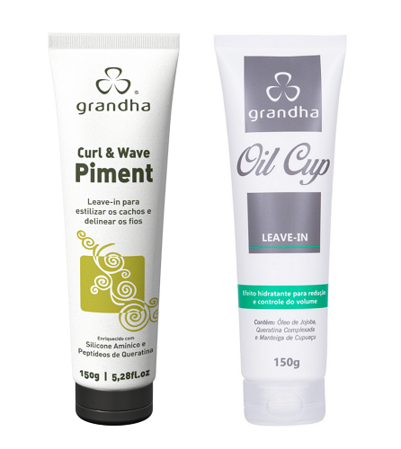 Kit Especial Grandha Curl Wave 1 Piment 150g E 1 Oil Cup150g