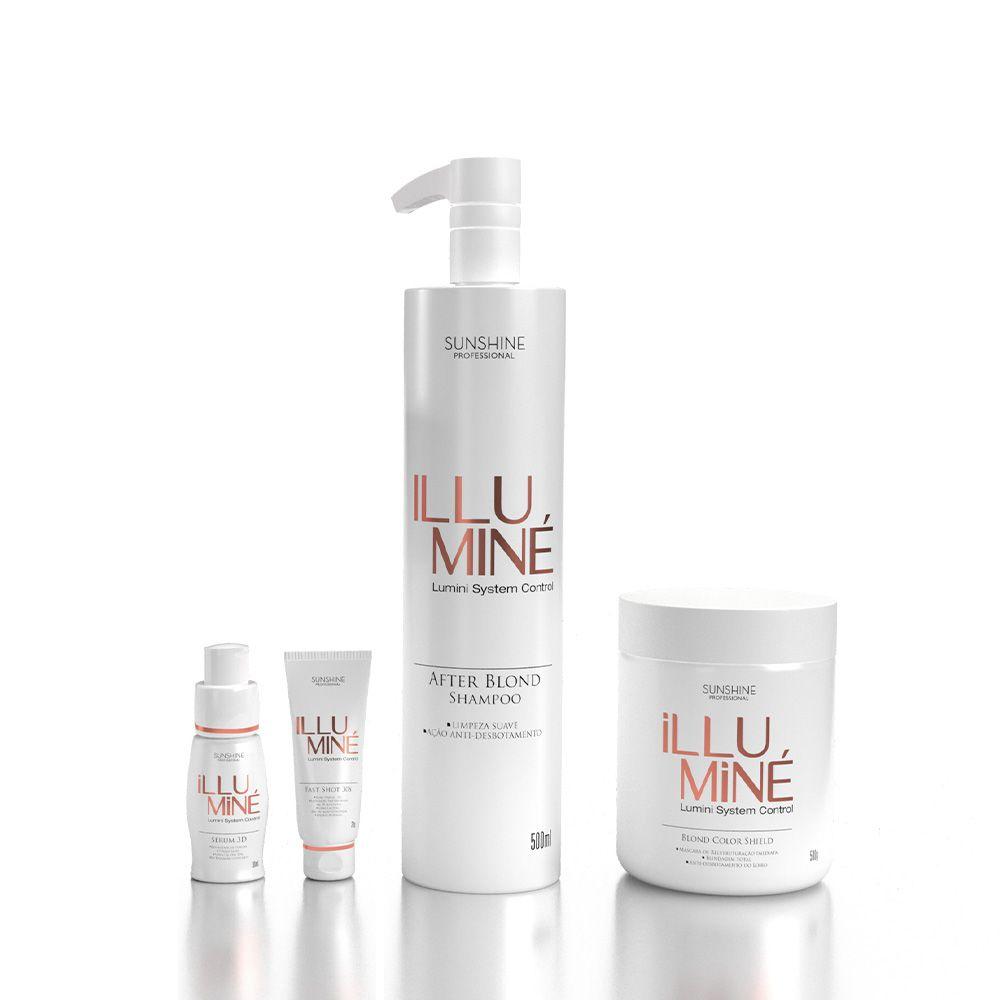 Kit Illuminé Tratamento Sunshine Professional 4p