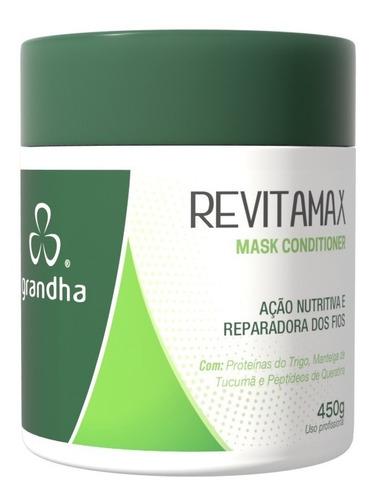 Máscara De Nutrição Intensiva Grandha Revitamax 450g