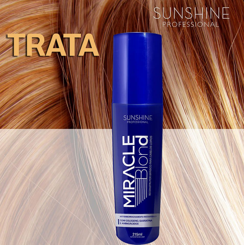 MIRACLE BLOND SUNSHINE PROFESSIONAL 215 ml