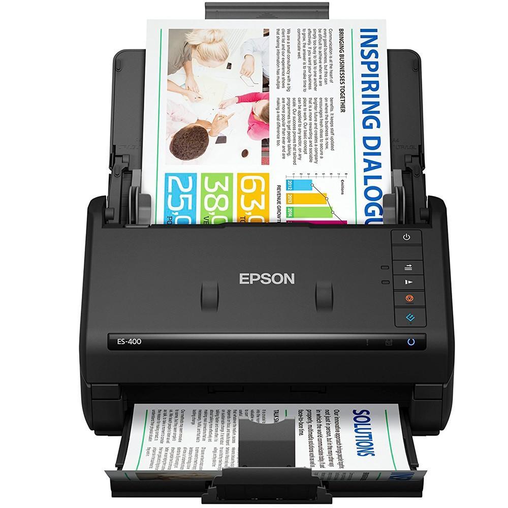 Scanner de Mesa Epson Color, Duplex 35 ppm - ES-400