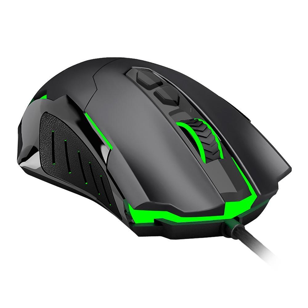 Mouse Gamer T-Dagger Brigadier, RGB, 7 Botões, 7200DPI - T-TGM206