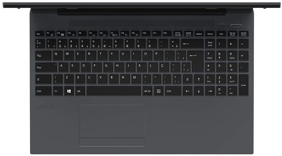 "Notebook Vaio FE15, Intel Core i3-1005G1, 4GB, 1TB, 15.6"", HD, Linux, Chumbo Escuro - VJFE53F11X-B0121H"