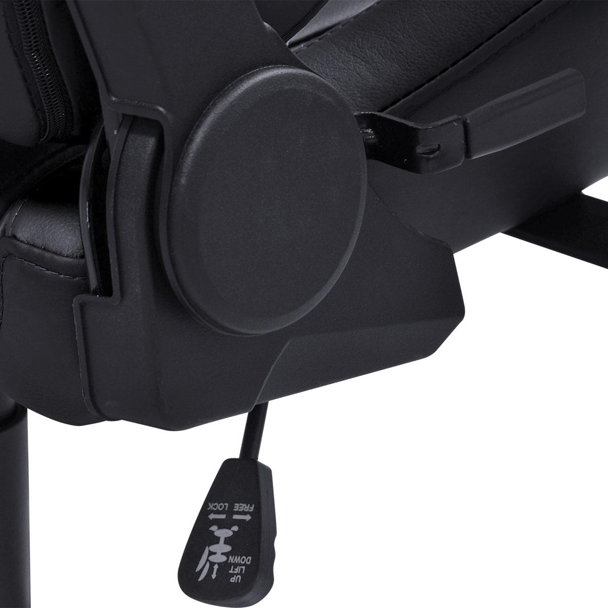 Cadeira Gamer PCYes Mad Racer V10, Black - MADV10PTGL