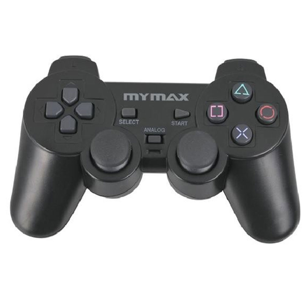 Controle Analógico Dual Shock Mymax para Playstation 2