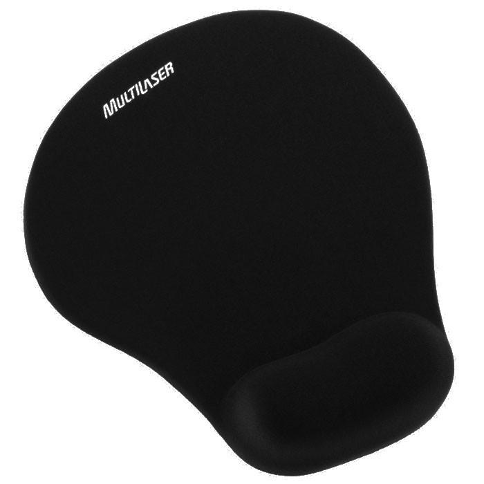 Mousepad Multilaser com Apoio de Pulso - AC024