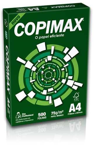 Papel Sulfite A4 Branco Copimax com 500 Folhas Report