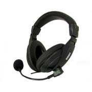 Headset K-Mex, P2, com Microfone, Preto - ARS-7500