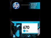 CARTUCHO HP 670 AZUL
