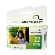 Cartucho Multilaser 22 Xxl 14Ml Color