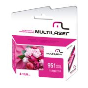 CARTUCHO MULTILASER 951XL 28ML MAGENTA
