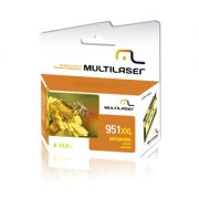 Cartucho Multilaser 951Xl 28Ml Amarelo CO953
